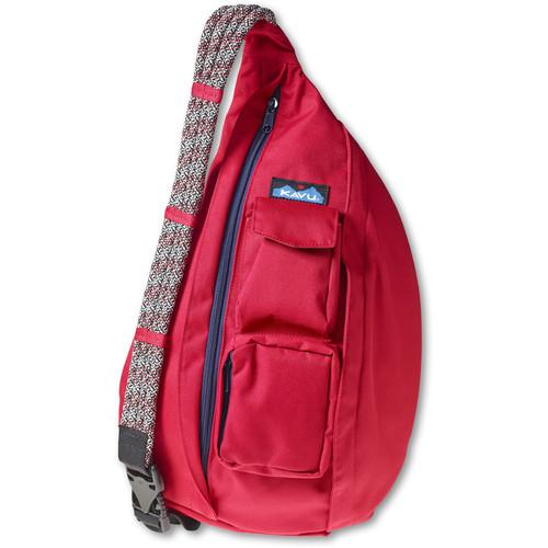 KAVU  Rope Sling Bag (Red) 944-51