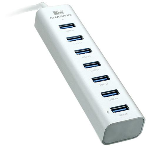 Kingwin  7-Port SuperSpeed USB 3.0 Hub KWZ-700