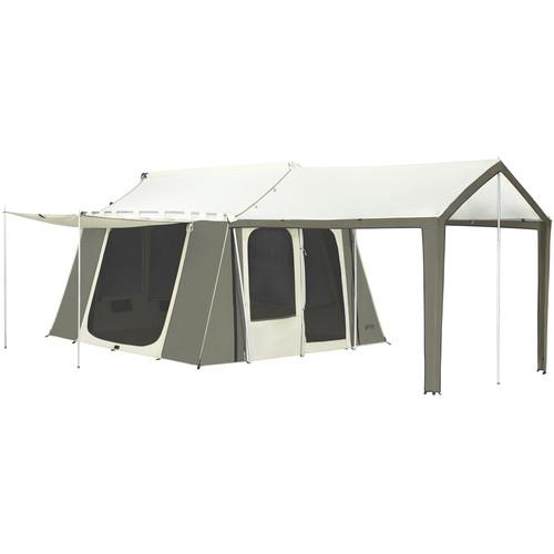 Kodiak Canvas Cabin Canvas Tent with Deluxe Awning (12 x 9')