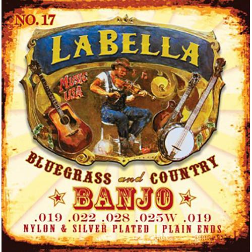 LABELLA Classical Banjo Nylon & Silver Plated Wound 17