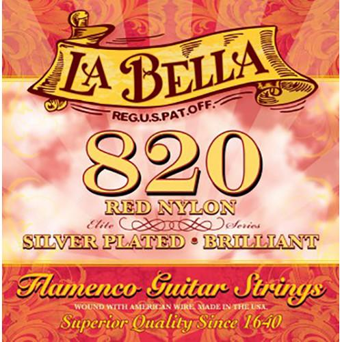 LABELLA Elite Flamenco Red Nylon Classical Guitar Strings 820