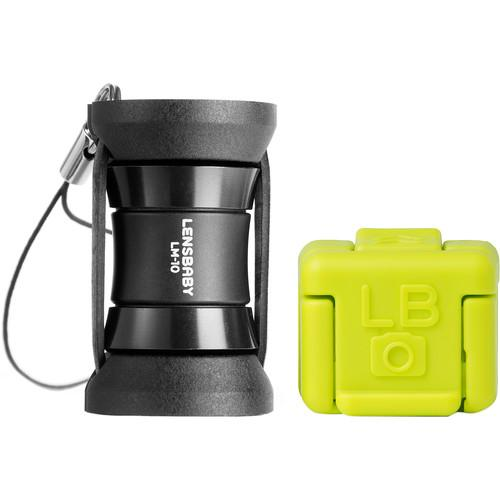 Lensbaby LM-10 Mobile Mount Bundle for iPhone 5/5s LBLM10-IP5