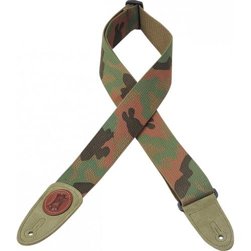 Levy's Signature Series Cotton Guitar Strap (Camo) MSSC8-CAM