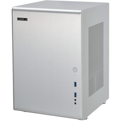 Lian Li PC-Q33A Mini Tower Desktop Case (Silver) PC-Q33A