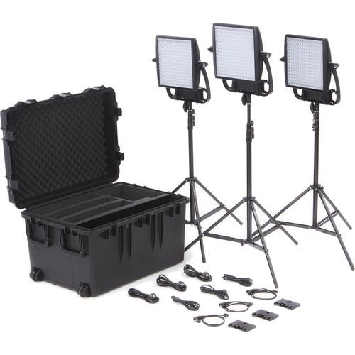 Litepanels Astra 1x1 Bi-Color LED Traveler Trio Gold 935-3007