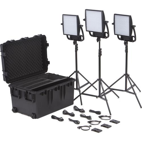 Litepanels Astra EP 1x1 Bi-Color LED Traveler Trio Gold 935-3009