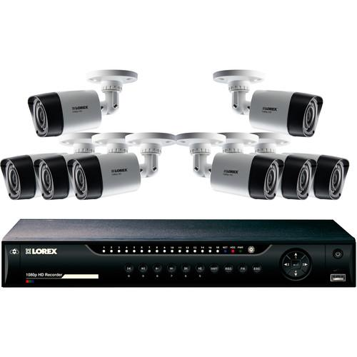 Lorex by FLIR 16-Channel 1080p DVR with 2TB HDD and LHV22162TC8