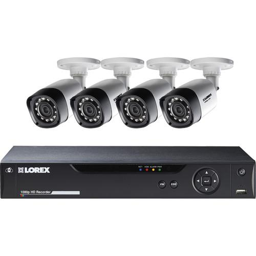 Lorex by FLIR 8-Channel 1080p DVR with 1TB HDD and LHV21081TC4B