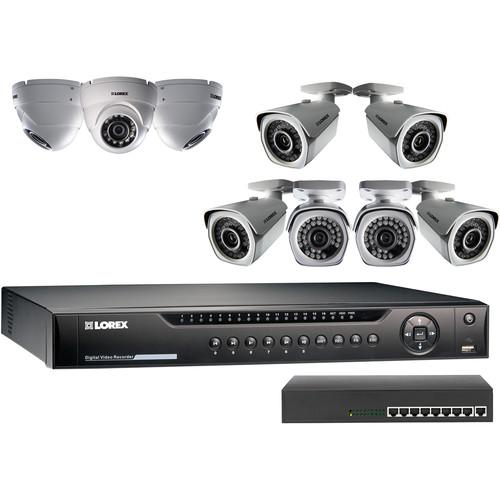 Lorex by FLIR LNR400 Series 16-Channel 1080p NVR Kit LNR4163TC9B