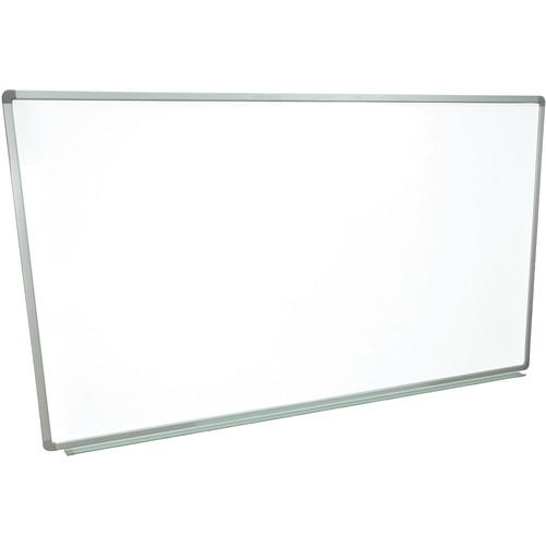Luxor Wall-Mountable Magnetic Porcelain Whiteboard WB7240P