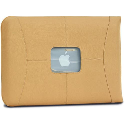 MacCase Premium Leather MacBook Air & Pro Sleeve L15SL-TN