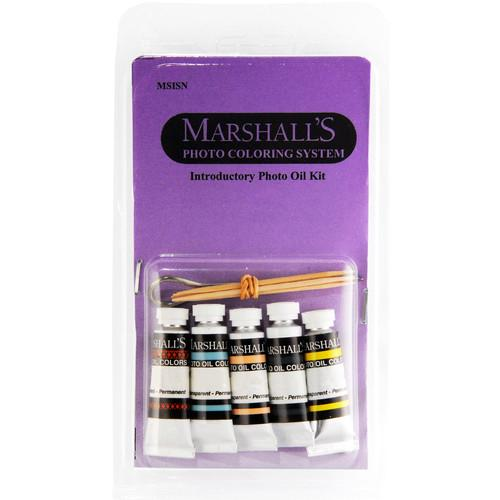 Marshall Retouching Introductory Oil Set with Five 0.5 x MSISN