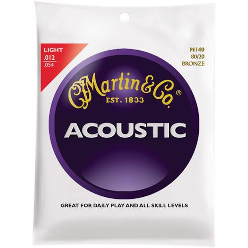 MARTIN  Acoustic 80/20 Bronze Guitar Strings M140