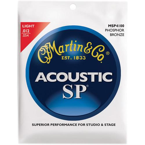 MARTIN Acoustic SP Phosphor Bronze Guitar Strings MSP4100