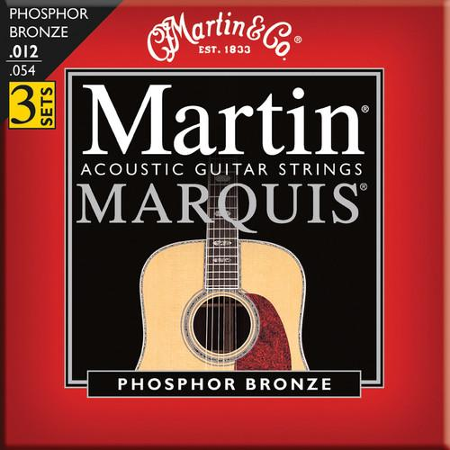 MARTIN Marquis Phosphor Bronze Acoustic Guitar Strings M2100PK3
