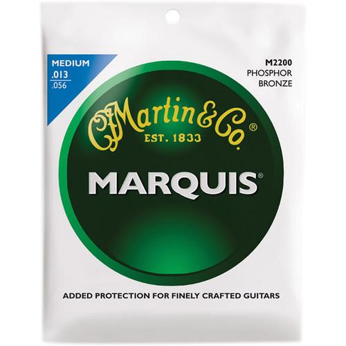 MARTIN Marquis Phosphor Bronze Acoustic Guitar Strings M2200