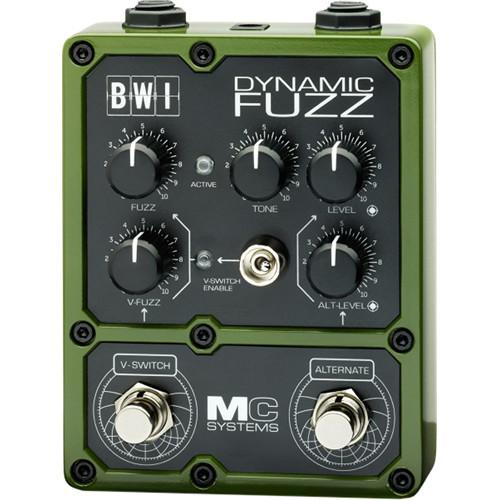 MC Systems Apollo BWI Dynamic Fuzz Guitar Pedal MCS-BWL-1