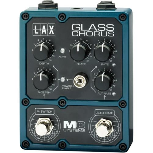 MC Systems Apollo LAX Glass Chorus Guitar Pedal MCS-LAX-1