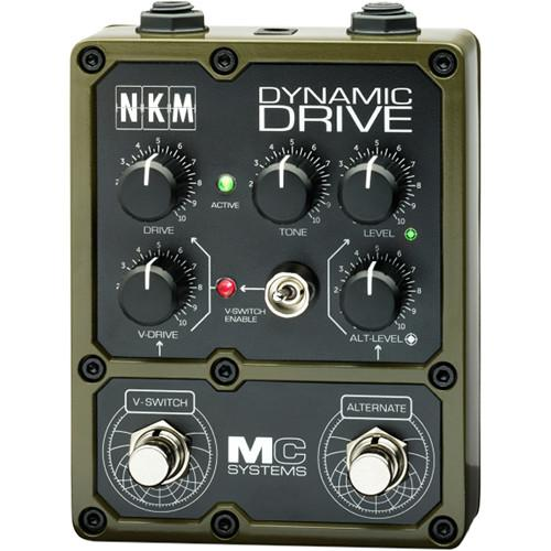 MC Systems Apollo NKM Dynamic Drive Guitar Pedal MCS-NKM-1