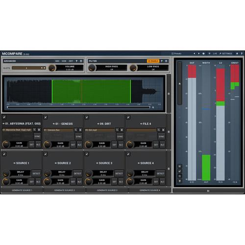 MeldaProduction MCompare - Mixing and Mastering 11-30214