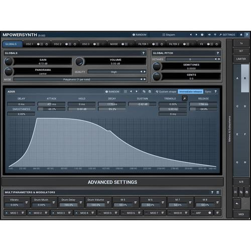 MeldaProduction MPowerSynth - Virtual Synthesizer 11-30215