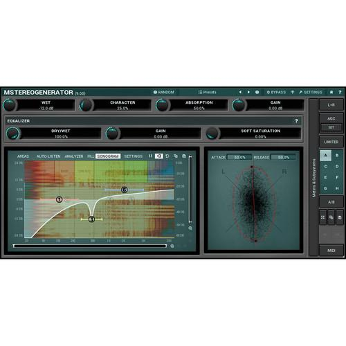 MeldaProduction MStereoGenerator - Sound Field Expander 11-30137