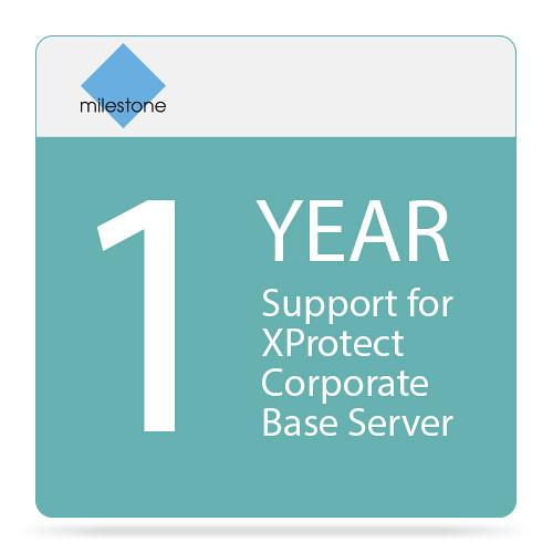 Milestone 1-Year Support For XProtect Corporate Base YXPCOBT