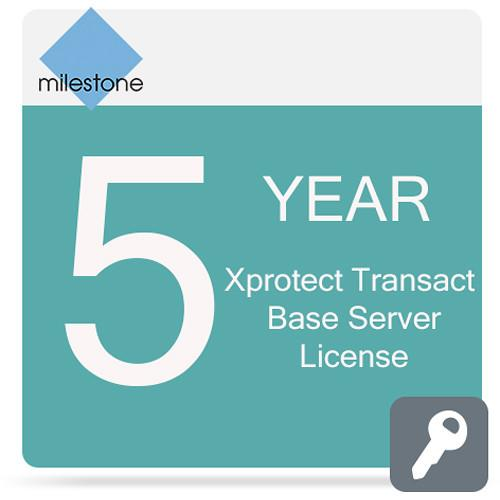 Milestone Care Premium for XProtect Transact Base MCPR-Y5XPTBS