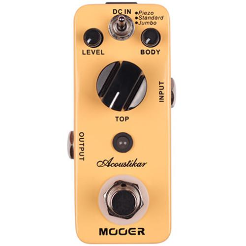 MOOER Micro Series Acoustikar Acoustic Guitar Simulator MAC1