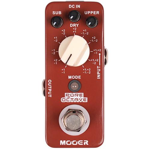 MOOER Micro Series Pure Octave Guitar Effects Pedal MOC1
