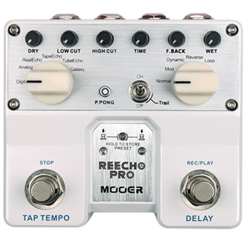 MOOER Twin Series Reecho Pro Digital Delay Pedal TDL1