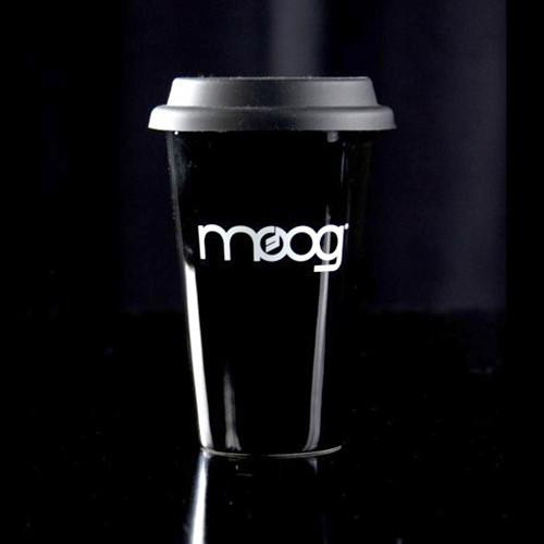 Moog  Black Travel Mug with Lid ACC-MG-003