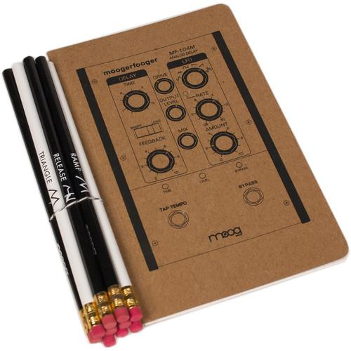 Moog Moogerfooger Notebook & Synthesis ACC-NOTE-SET-01