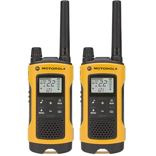 Motorola  T400 2-Way Radio (Yellow, 2-Pack) T400