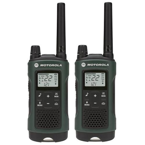 Motorola  T465 2-Way Radio (Green, 2-Pack) T465