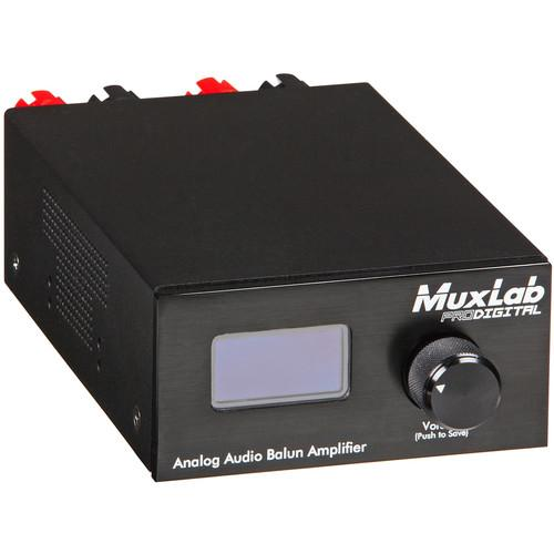 MuxLab 500219 Analog Audio Balun Amplifier with RJ45 500219