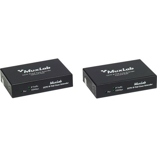 MuxLab LongReach CCTV IP PoE Extender Kit for 30W 500112-30W