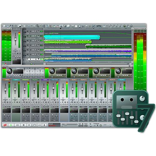 n-Track Studio 7 - Professional DAW - Audio Recording 10-10246