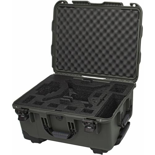 Nanuk 950 Wheeled Case for DJI Phantom 3 (Olive) 950-DJI6