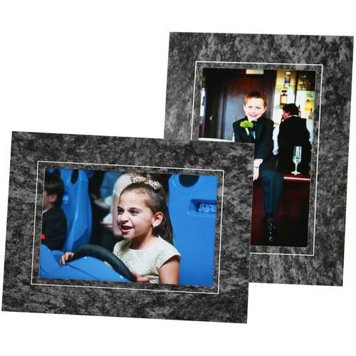 National Photo Folders Marble Pattern Display Easel MEA57P