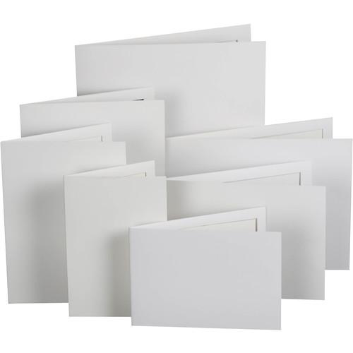 National Photo Folders White Slip-In Photo Folder WSI57P