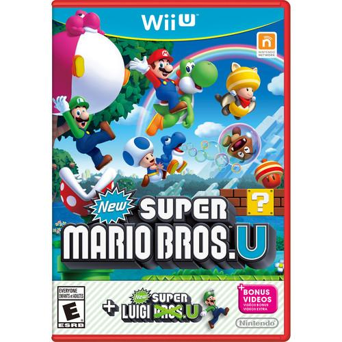Nintendo New Super Mario Bros. U   New Super Luigi U WUPPATWE
