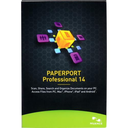 Nuance PaperPort Professional 14 (Boxed) F309A-G00-14.0