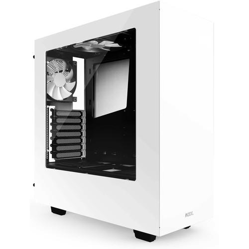 NZXT  S340 Mid-Tower Chassis (White) CA-S340W-W1
