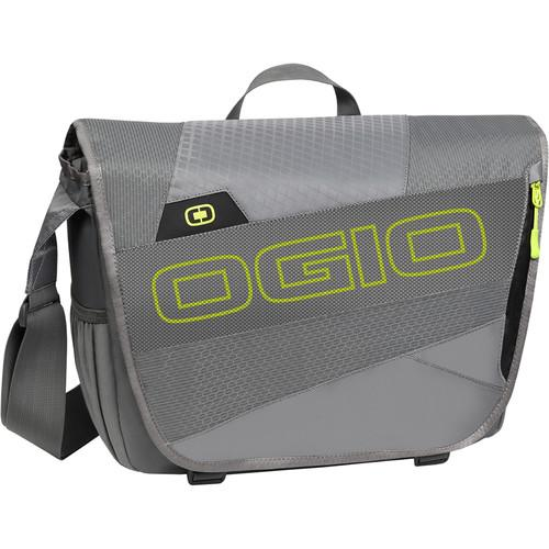 OGIO X-Train Messenger Bag (Dark Gray/Acid) 112048.562