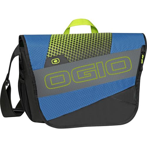 OGIO X-Train Messenger Bag (Navy/Acid) 112048.041