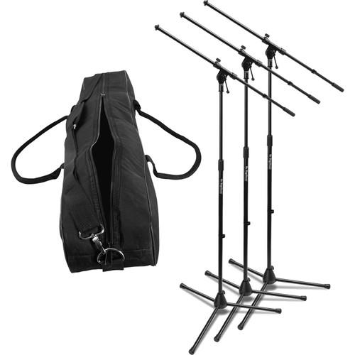 On-Stage MS7701B Euroboom Microphone Stand with Bag MSP7703