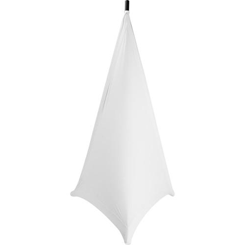 On-Stage Speaker/Lighting Stand Skirt (White) SSA100W