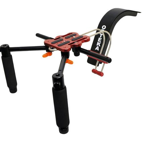 Opteka CXS-2 Dual-Grip Video Shoulder Stabilizer Support CXS-2