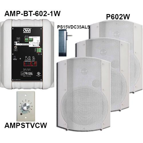 OWI Inc. AMP-BT-602-4WVC Kit of Four AMP-BT-602-4WVC